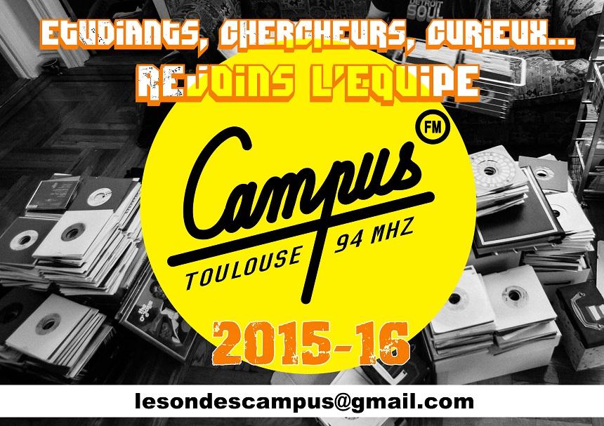 Campus FM recrute