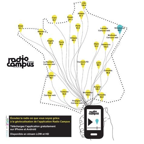 Écoutez Campus FM sur votre smartphone