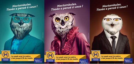 Campus FM et Tisséo deviennent noctambules, le vendredi 7 novembre, métro Jean Jaures, de 18h30 à 3h00…