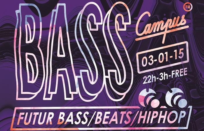 Bass Frequence #2 : On se retrouve le 3 janvier au Nasdrovia avec Dj Vega et Selecta Naga.