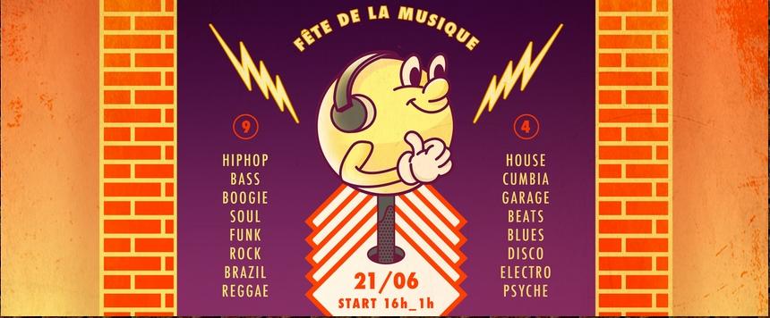Campus FM fête la musique dans la rue des Lois