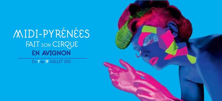 SurLeFil et Campus FM à Midi-Pyrénées Fait son Cirque en Avignon