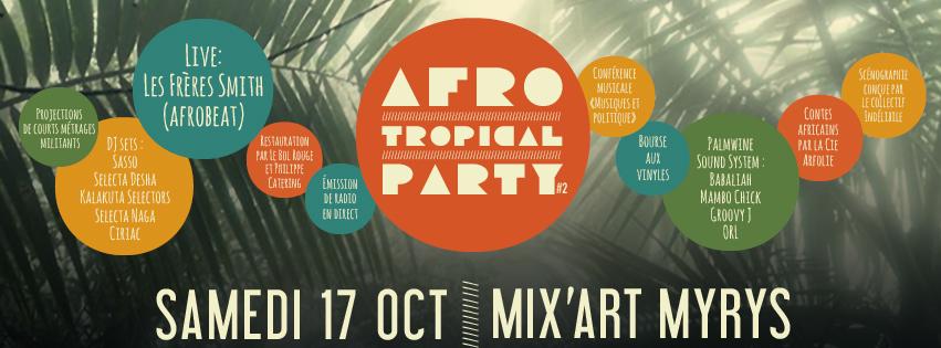 Kalakuta Prod et Campus FM Toulouse présentent Afro-Tropical Party #2