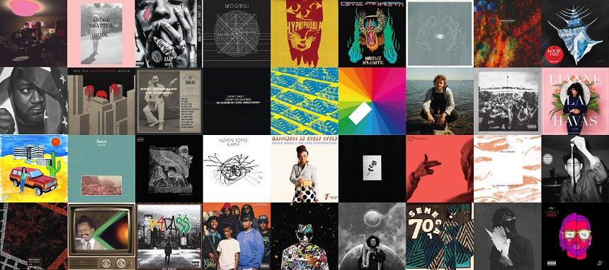 Deux-Mille-Quinze sur les Ondes du Quatre-Vingt-Quatorze en Quarante-Six Albums.