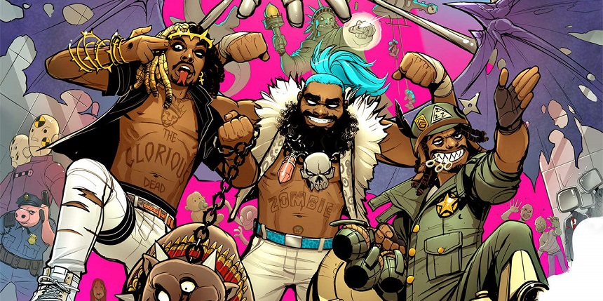 Flatbush Zombies / 3001 : A Laced Odyssey, The Glorious Dead, 2016