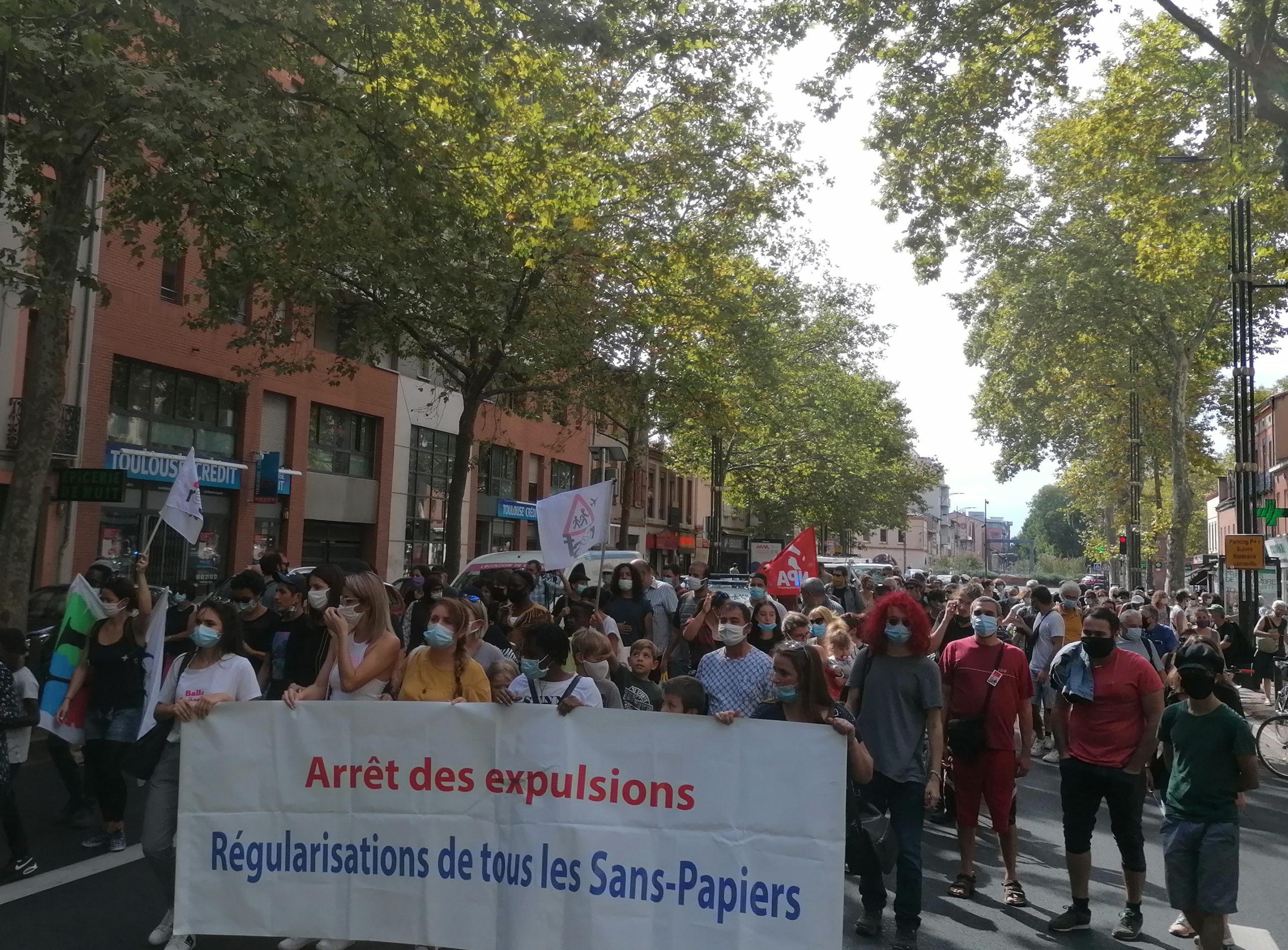 La marche des solidarités