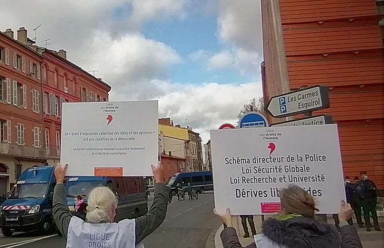 Retrouver une légitimité entre la police et la population : l'appel de la Ligue des droits de l'Homme à Toulouse